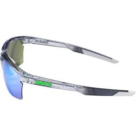 100% Sportcoupe Bril, transparant/petrol
